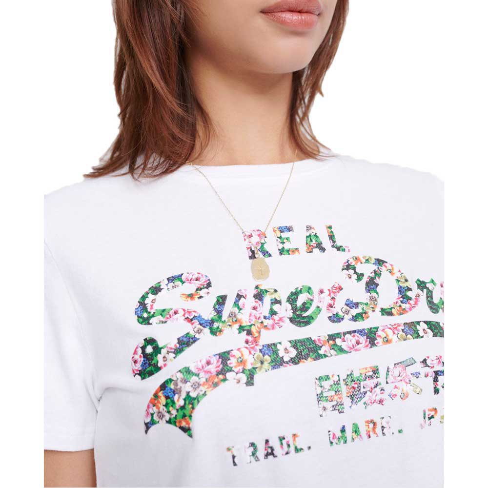 Superdry Vintage Logo Gloss Floral T-Shirt