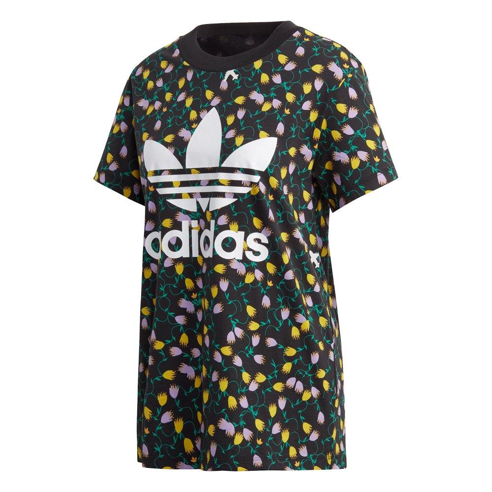 adidas Originals CROP - T-shirts med print - multicolor