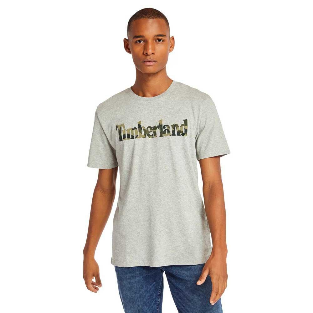 Timberland Mens T-Shirt /'Kennebec River Brand Linear/'