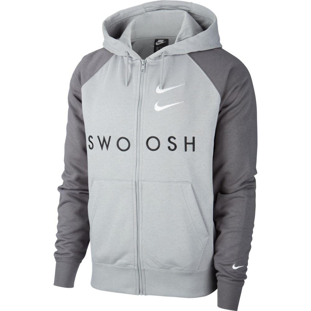 fragancia Sano duda  Nike Sportswear Swoosh French Terry Grey, Dressinn