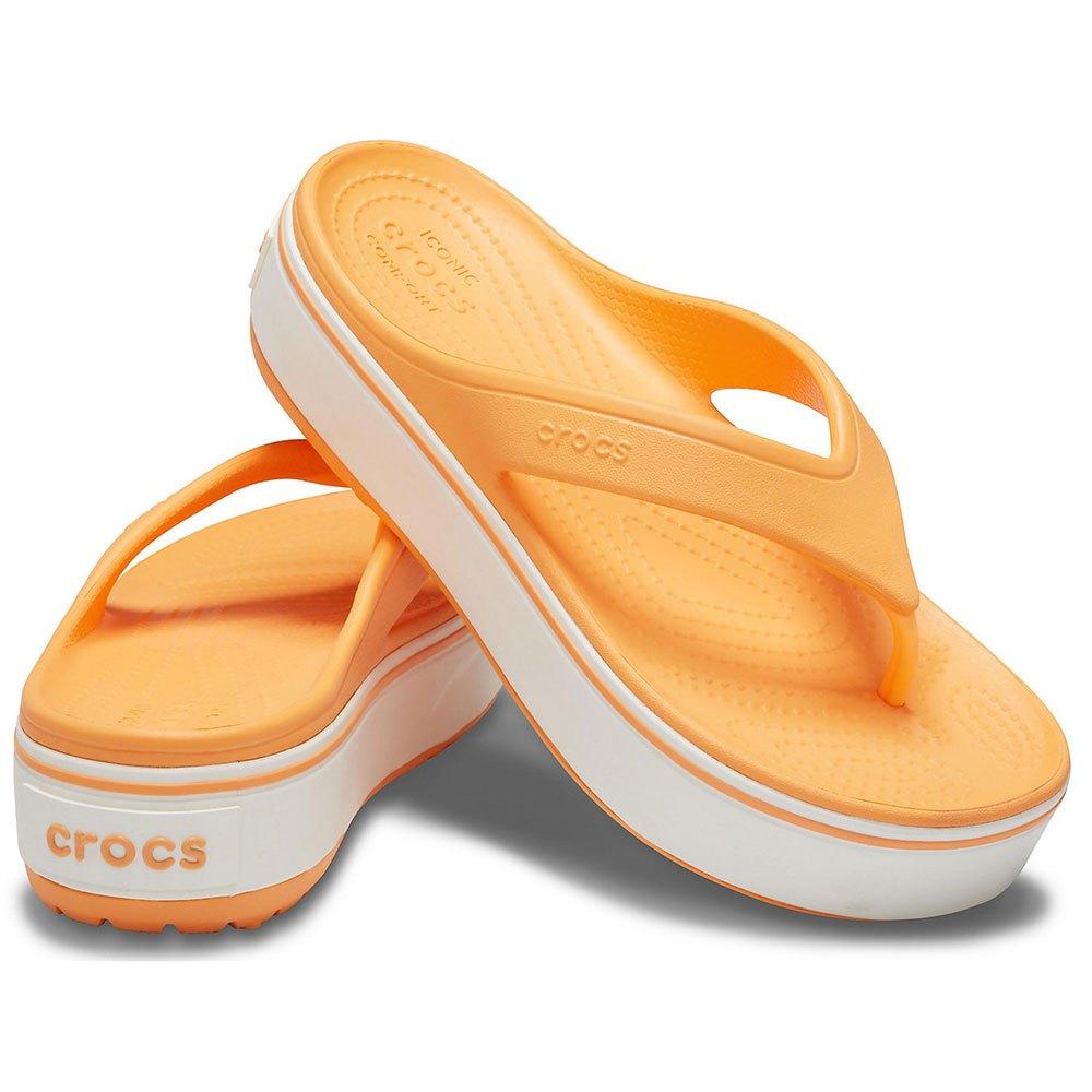 crocband platform flip