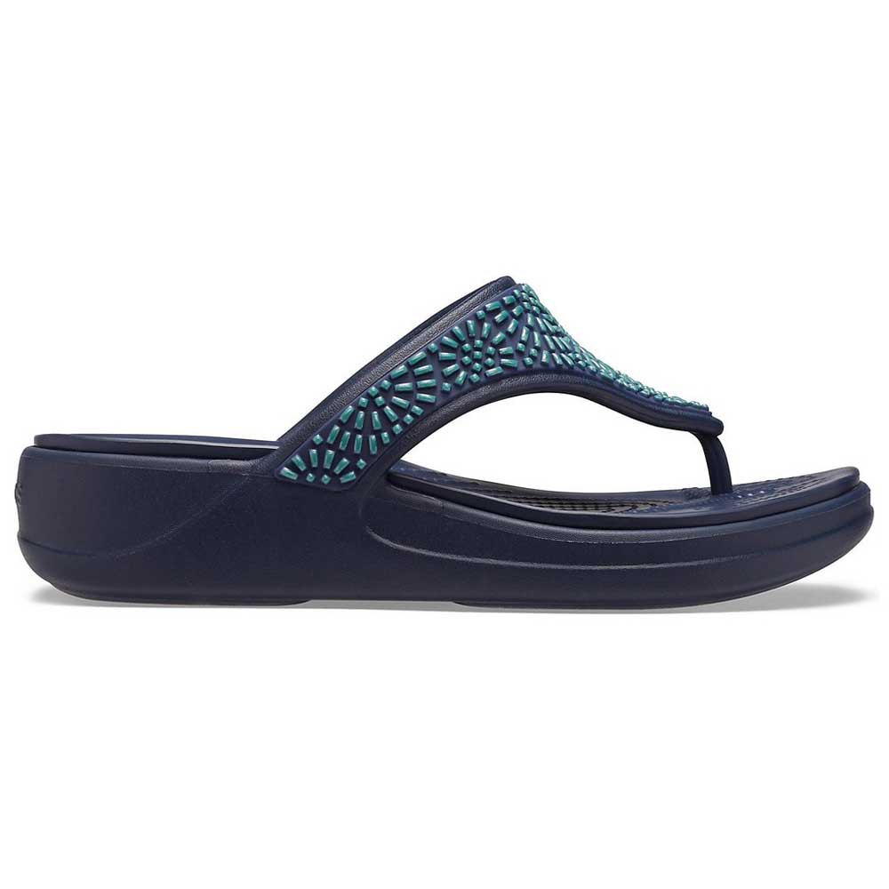 Crocs Monterey Diamante Wedge Flip W