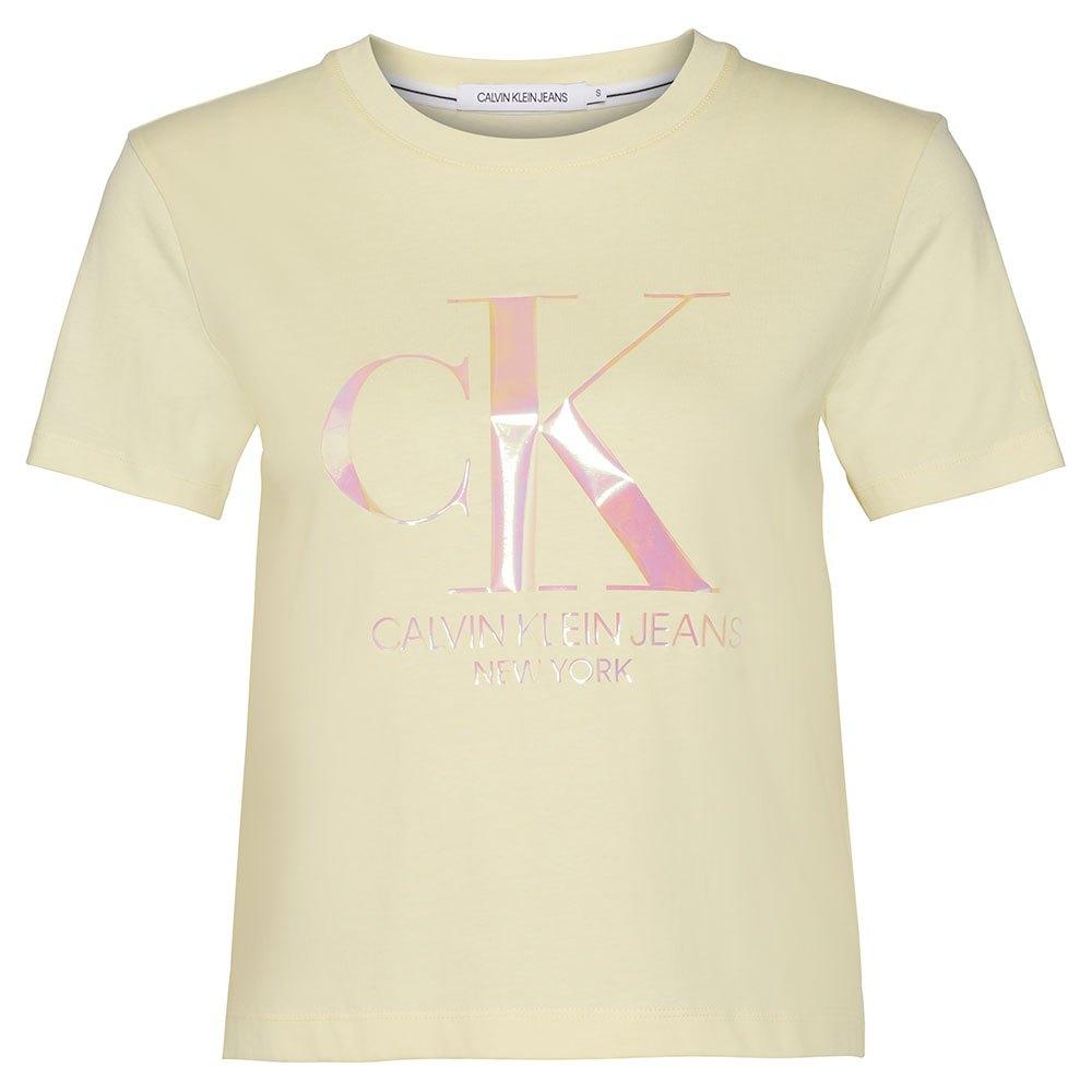 Calvin Klein Jeans Iridescent Logo T
