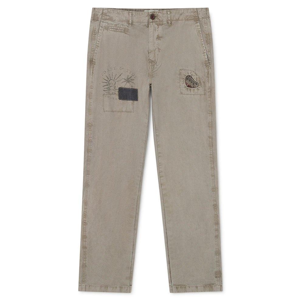 Hackett Paneled Pants Зеленый, Dressinn