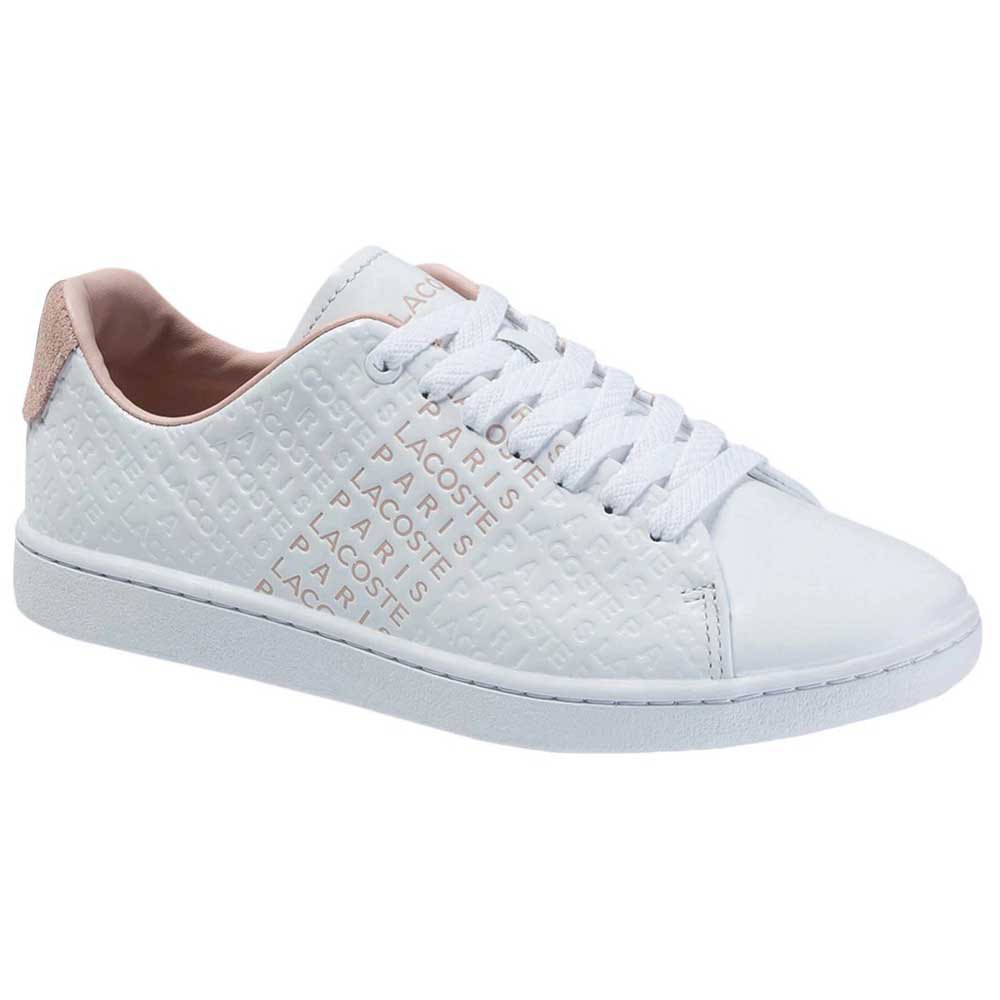 Sneakers Lacoste Wocarnaby EU 37 1/2 White / Nat