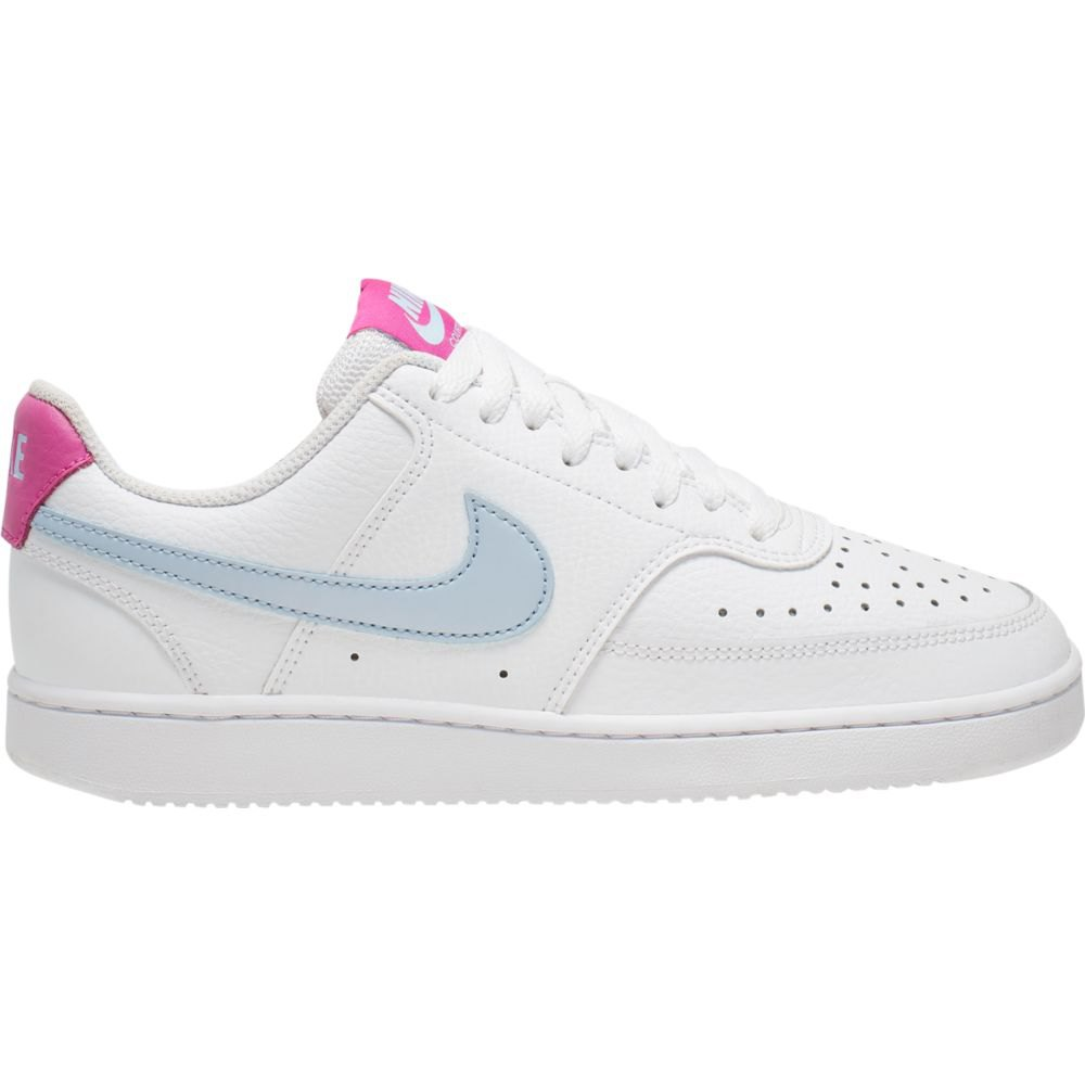Nike Court Vision Low EU 44 1/2 White / Hydrogen Blue / Fire Pink