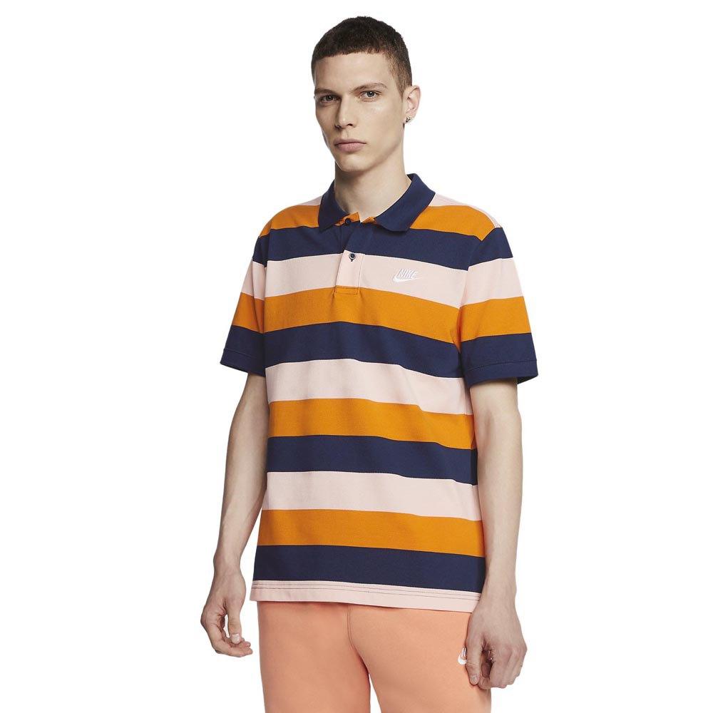 Mucama Matemático Tiempo de día  Nike Sportswear Striped Polo Tricolor buy and offers on Dressinn