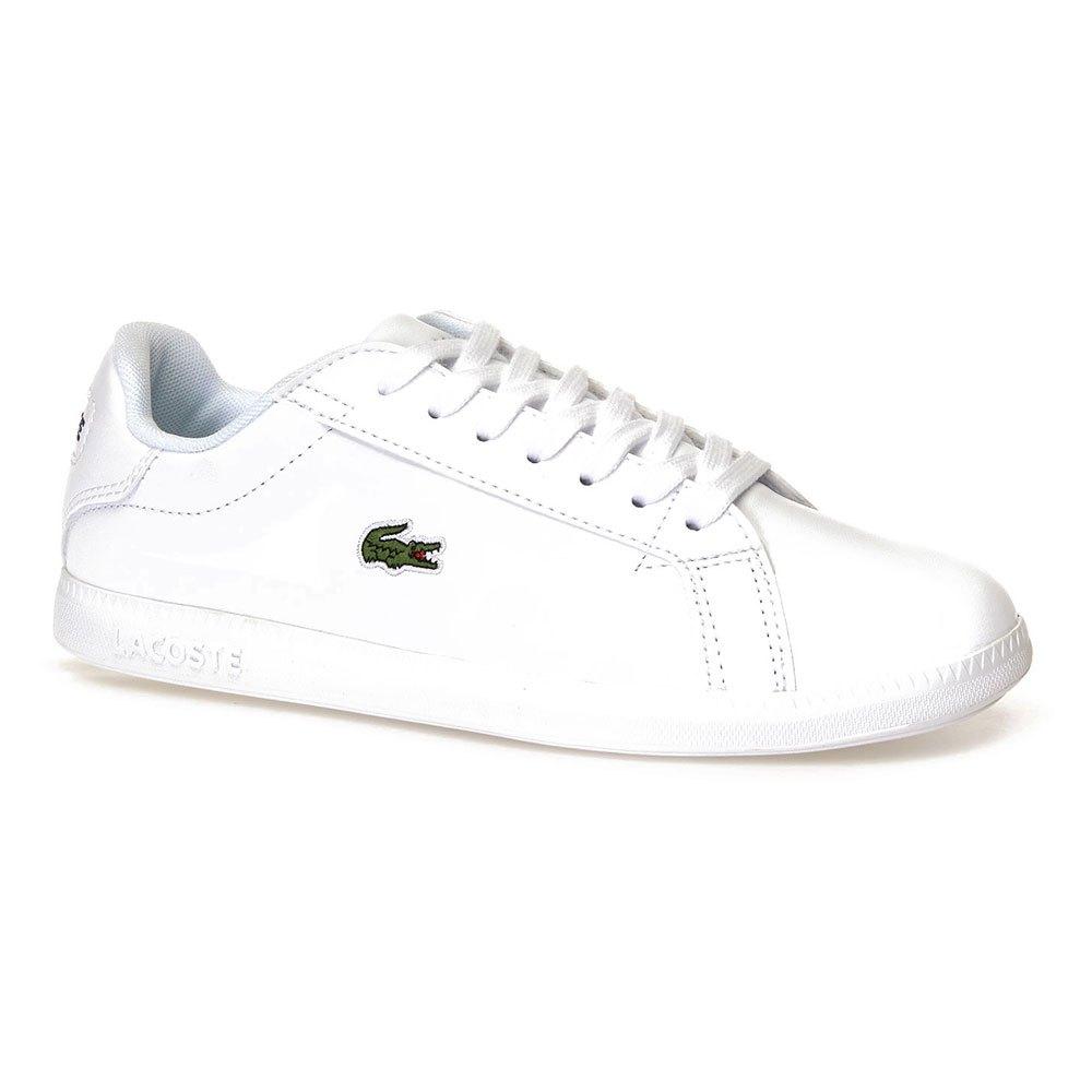 Lacoste Graduate Tonal Leather White