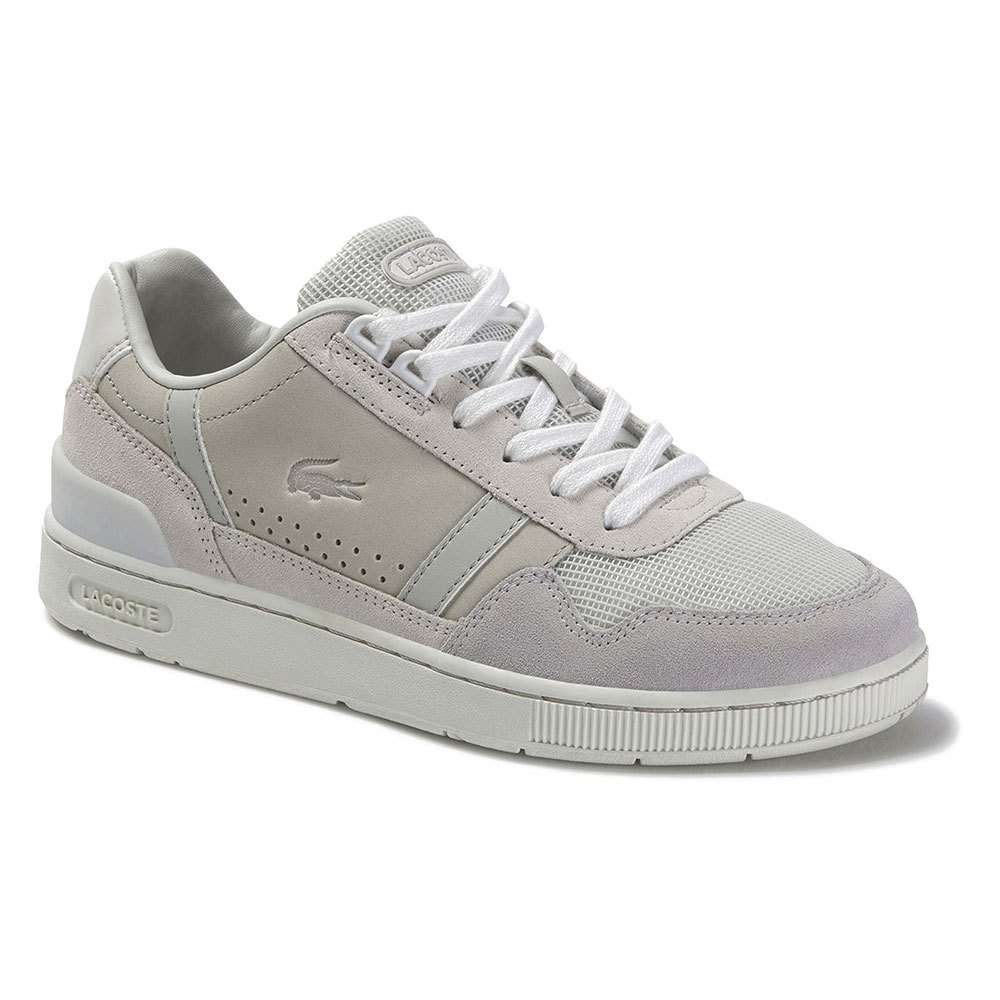 Lacoste T-Clip Leather Suede Grey buy