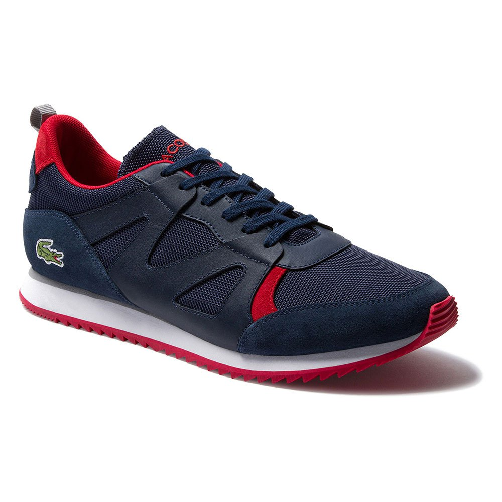 Sneakers Lacoste Aesthet Textile Suede EU 11 Navy / Red