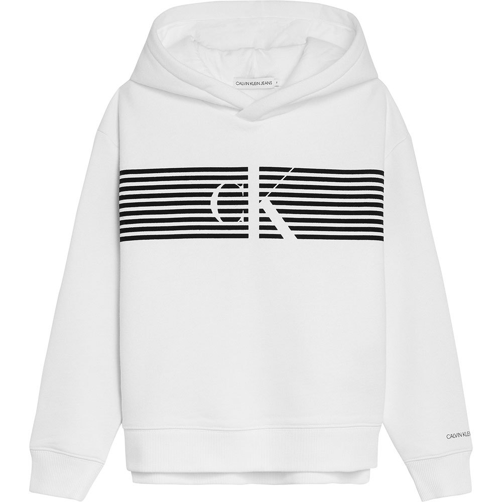Calvin klein Striped Monogram Hoodie