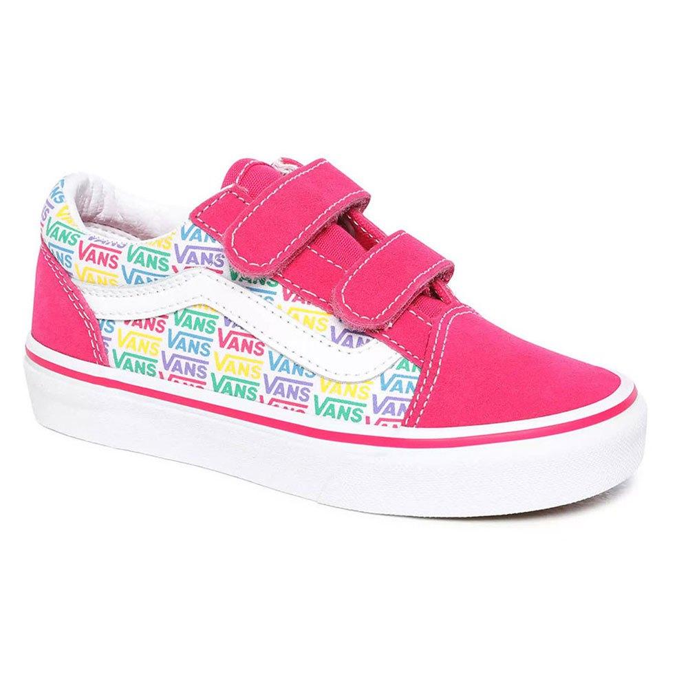 Vans Youth Old Skool V Pink buy and