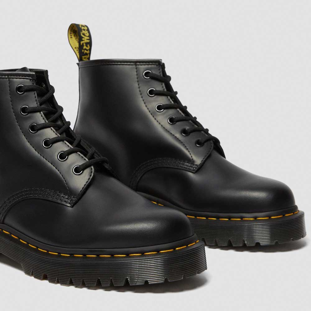 Coscia Ricorrere labbra  Dr martens 101 6-Eye Bex Smooth Black buy and offers on Dressinn