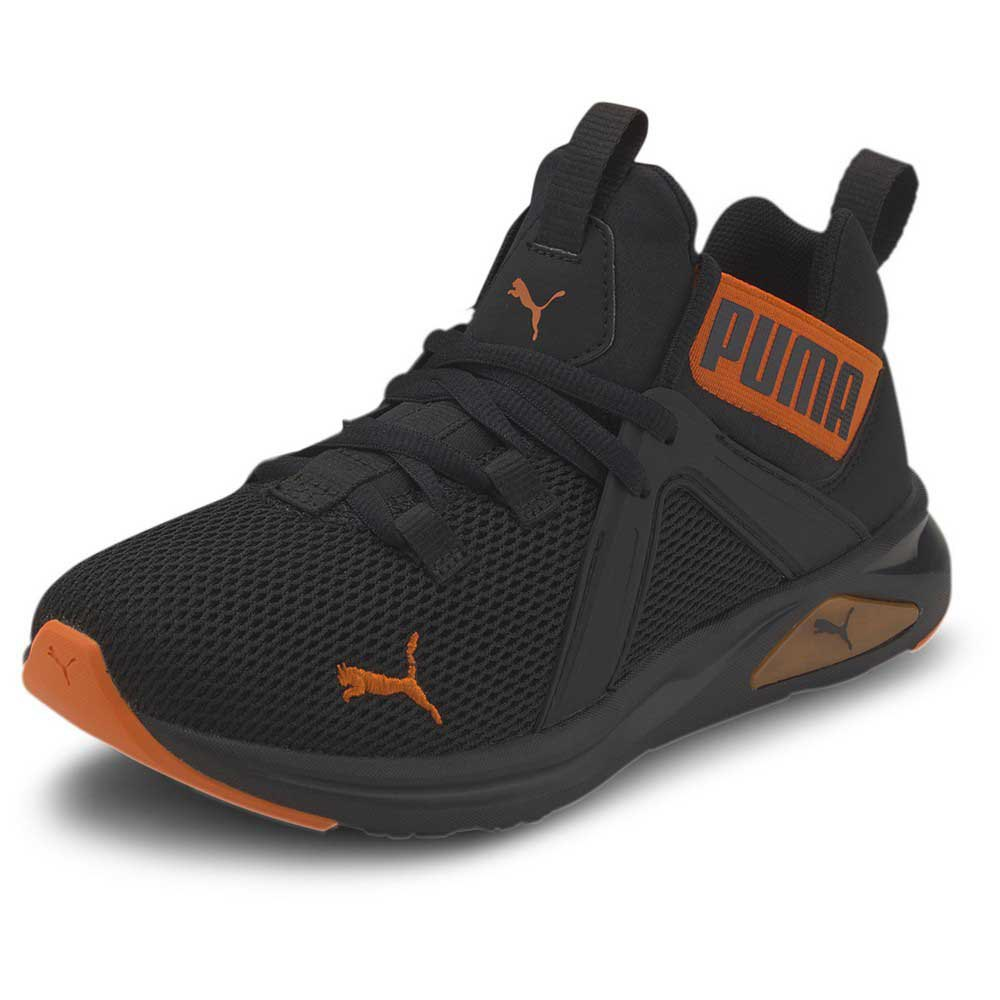 Puma Enzo 2 Weave Trainers Black buy and offers on Dressinn