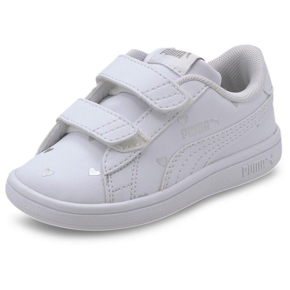 Puma Smash V2 L Studs V Infant White