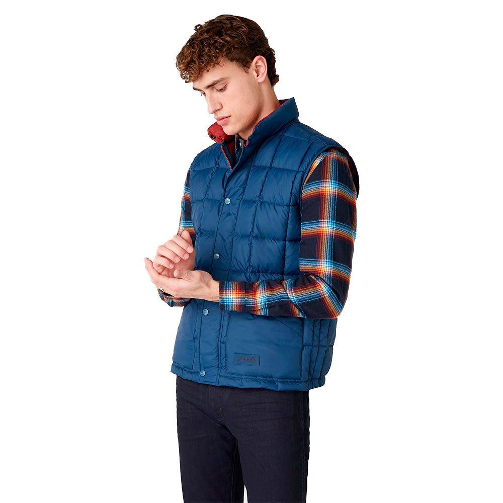 Wrangler The Vest Голубой, Dressinn
