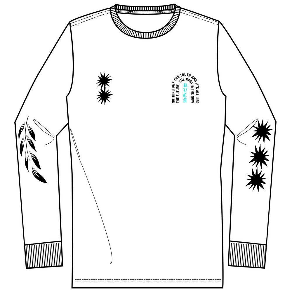 RVCA Big T-shirt à manches courtes-Noir Toutes Tailles