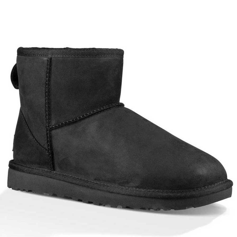Ugg Classic Mini Leather Black buy and