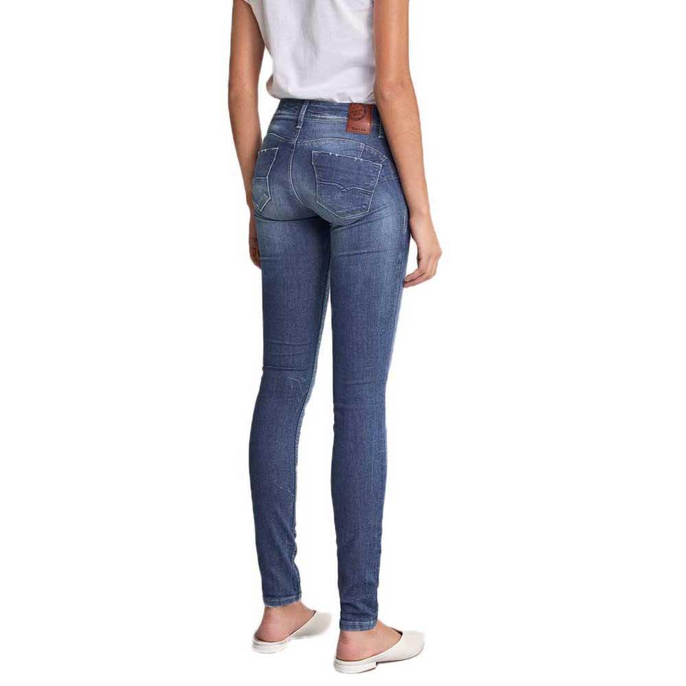 Salsa Jeans Wonder Push Up Skinny Azul Dressinn