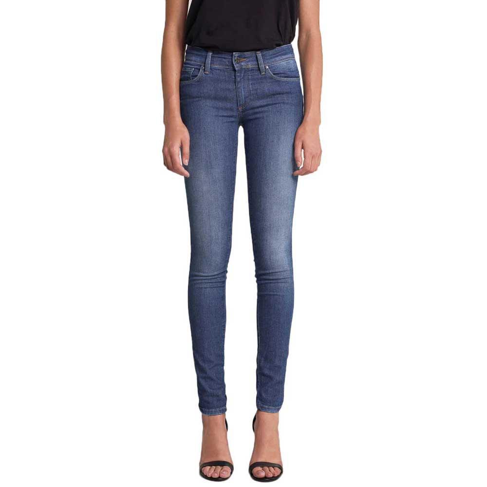 Salsa Jeans Pantalon Vaquero Super Pitillo Push Up Wonder Azul Dressinn