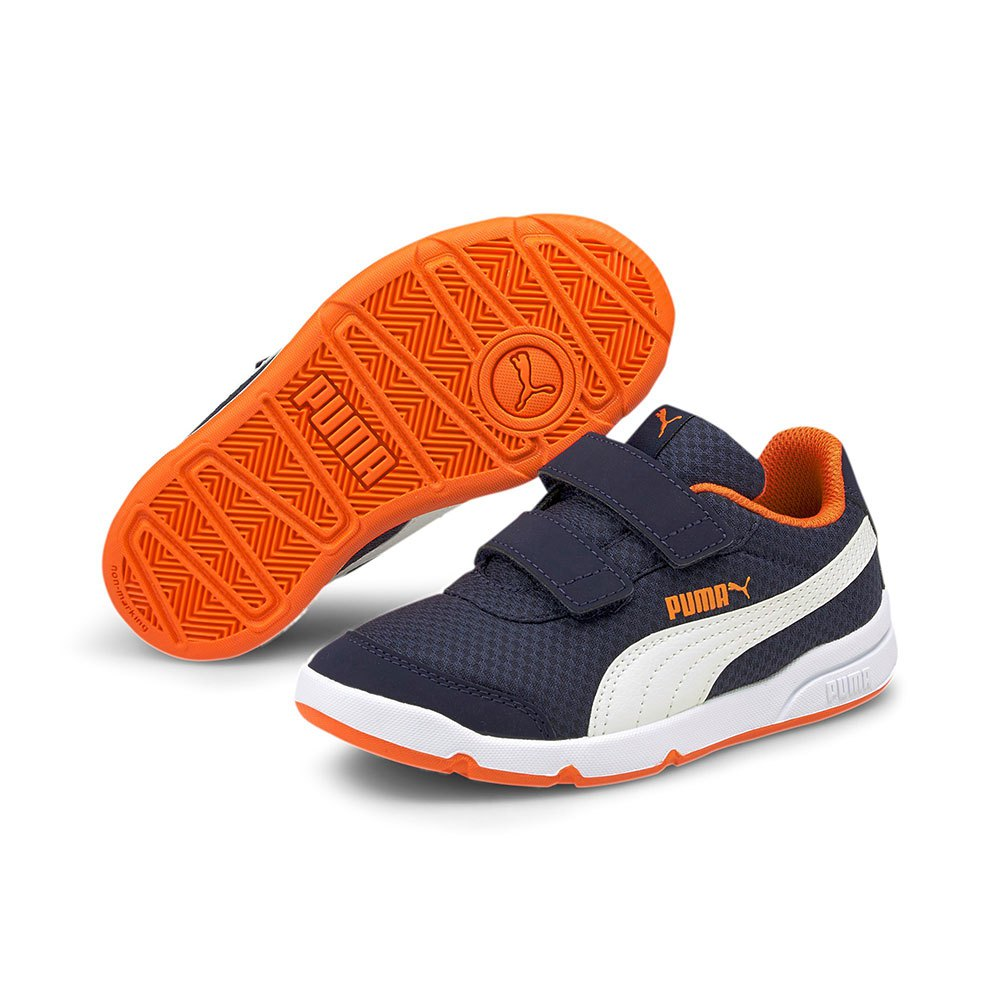 Puma Stepfleex 2 Mesh VE Velcro PS Trainers Blue, Dressinn