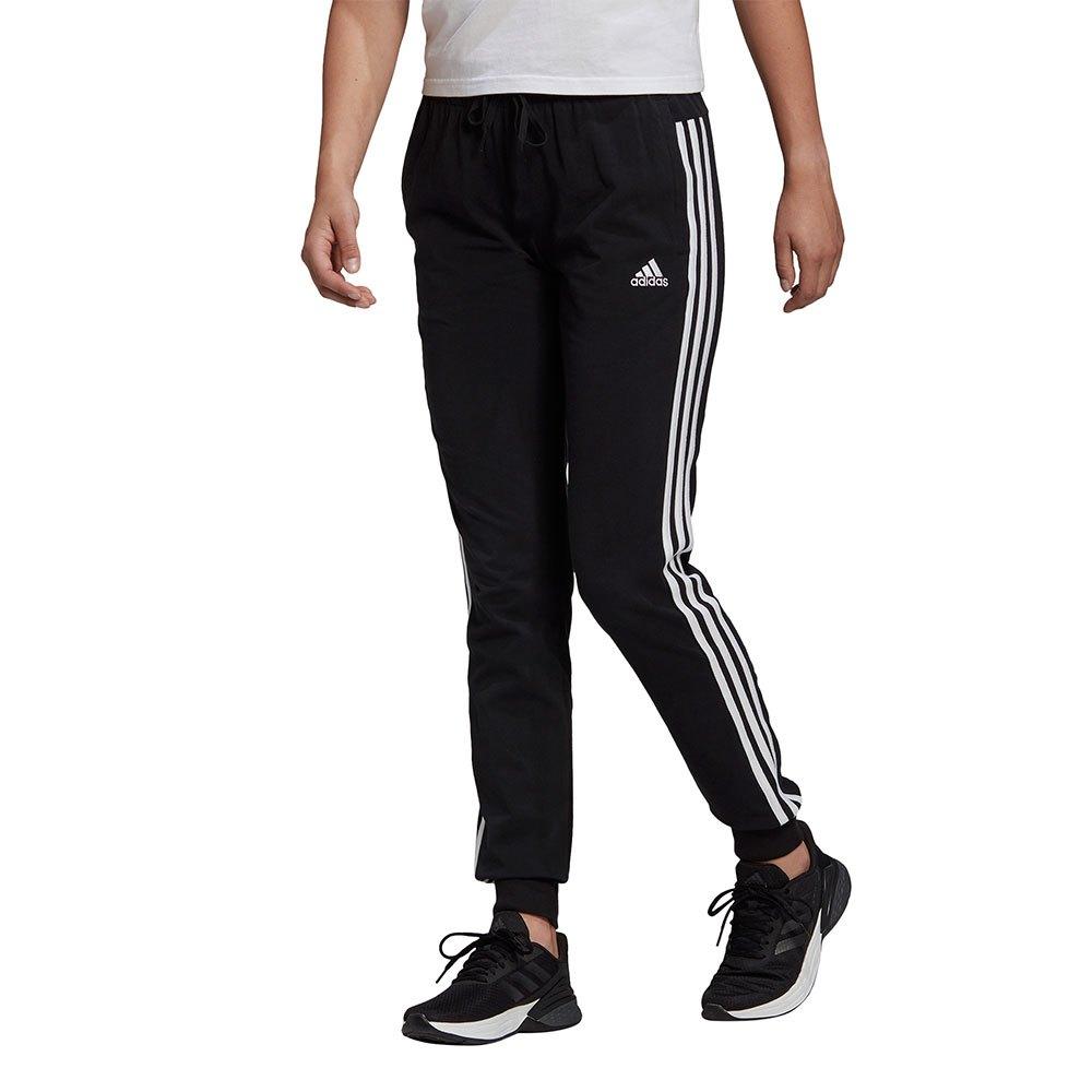 adidas Essentials Single Jersey 3 Stripes Pants