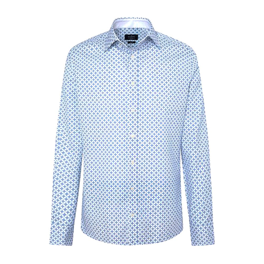 Hackett Star Geo Oxford Print
