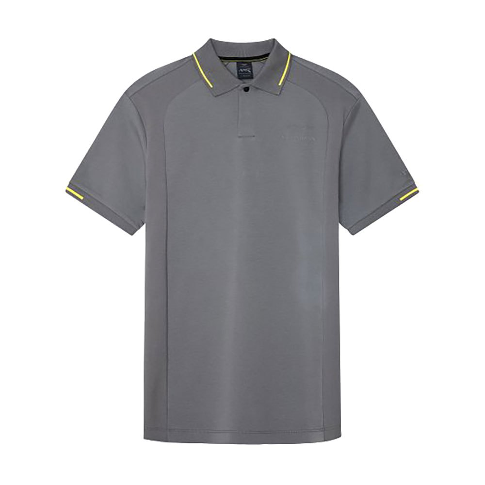 Hackett Aston Martin Racing Ergonomic Panel Short Sleeve Polo Shirt