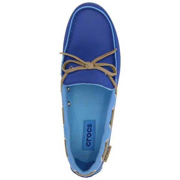 556e2c45a49 Crocs Wrap ColorLite Loafer Woman Голубой