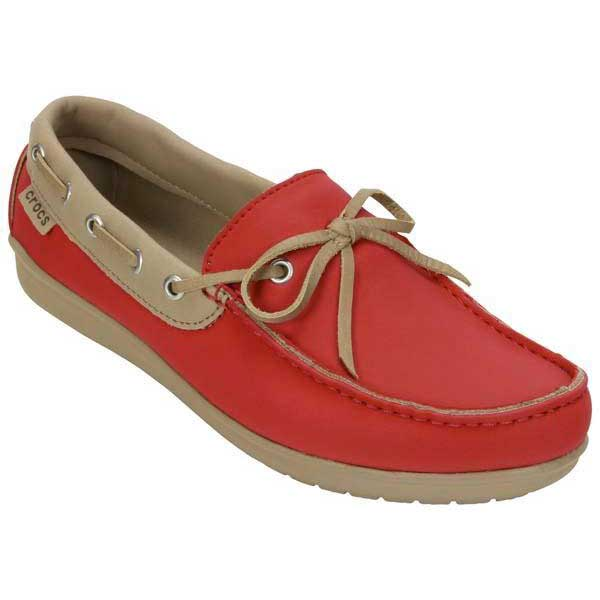 803eb8041e4 Crocs Wrap ColorLite Loafer Red buy and offers on Dressinn