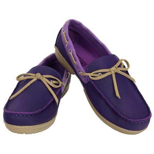 c81744d102e Crocs Wrap ColorLite Loafer Purpurowy kup i oferty