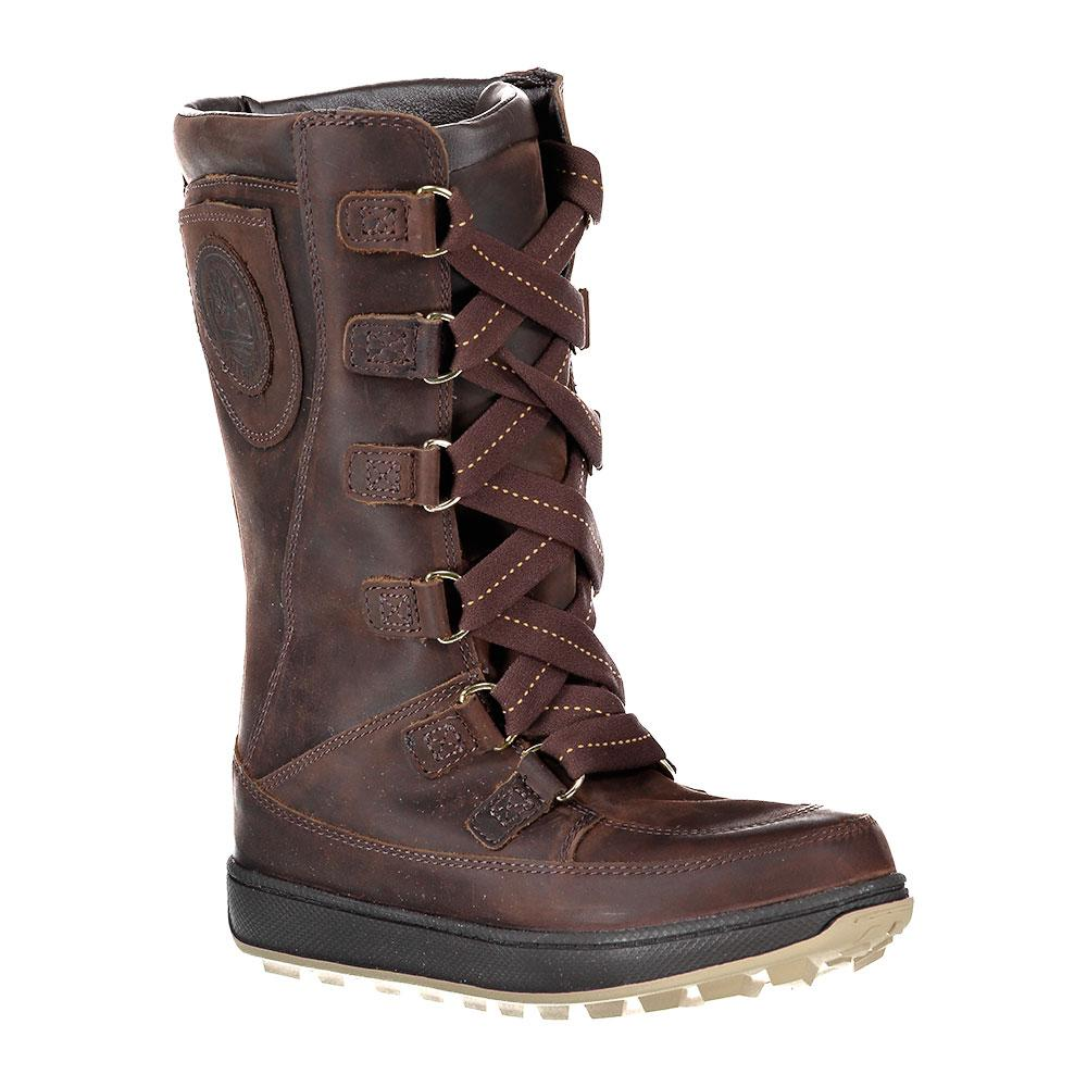Timberland Mukluk 8 In Waterproof Lace-Up Junior