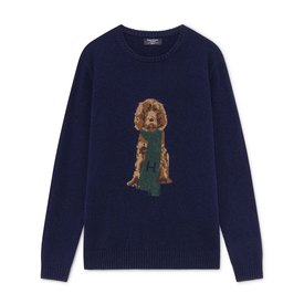 Hackett Harry Intarsia Crew Neck