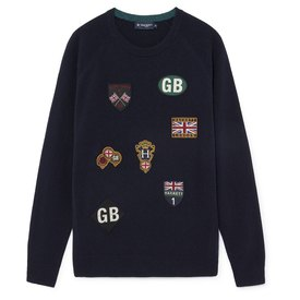 Hackett GBK Badge Crewneck