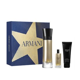 Giorgio armani Code Absolu Vapo 110ml+Vapo 15ml+Douchegel 50ml