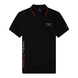 Hackett Aston Martin Racing Race Team Kurzarm Poloshirt