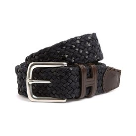 Hackett Cotton Leather Braid