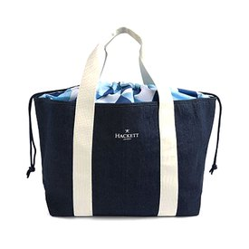 Hackett Denim Geo Swim Tote