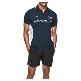 Hackett Aston Martin Racing Multi Short Sleeve Polo Shirt