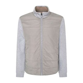 Hackett Hybrid Quilted Full Zip Sweatshirt