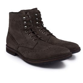 Hackett Brgue Bootwashed Suede Oiled