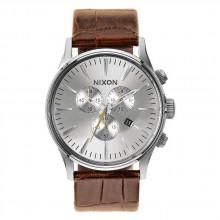 Nixon Sentry Chrono Leather