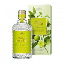 4711 Acqua Colonia Lime Nutmeg Natural Spray Eau De Cologne 170 ml