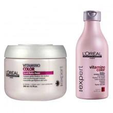 L´oreal fragrances Expert Vitamino Color A Ox Protective Mask 200ml + Protector Shampoo 250ml