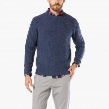 Dockers Aran Patchwork Sweater