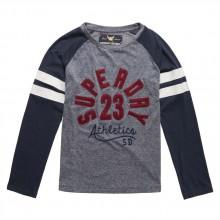 Superdry Applique Raglan Ls Tee