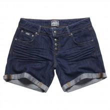Superdry Button Front Boyfriend Shorts