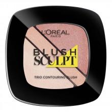 L´oreal fragrances Blush Sculpt Trio Contouring Blush 101 Soft Sand