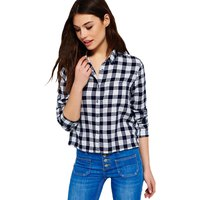 Superdry Crop Check Shirt