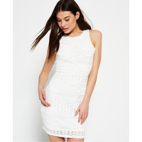 Superdry Crochet Knit Bodycon Dress